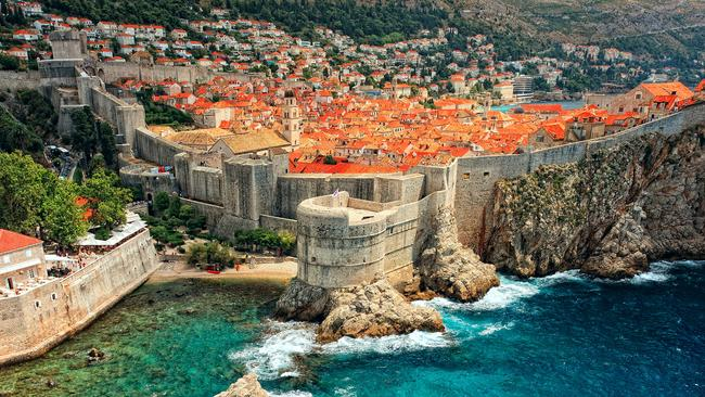 Look familiar? View of the ancient castle in Dubrovnik, Croatia. Picture: istock
