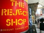 The Reject Shop in the Bourke Street Mall in Melbourne.