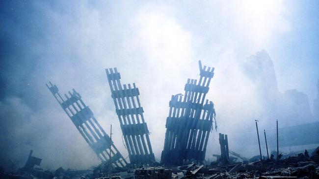 Pretend the towers were a conspiracy theory. Then pretend they were subjected to the force of logic. Here's your result. 11/09/2001.