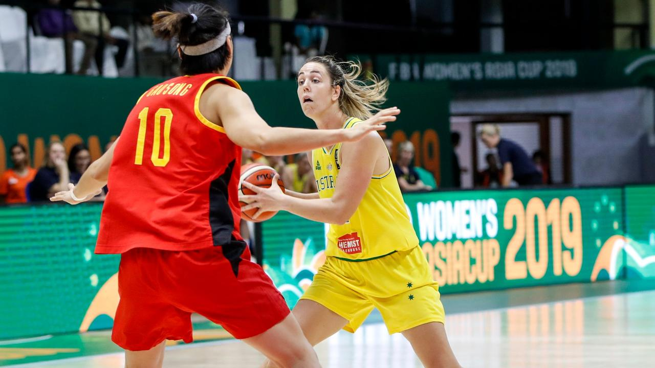 Opals captain Jenna O'Hea has joined Southside Flyers. Picture: Abhishek N. CHINNAPPA