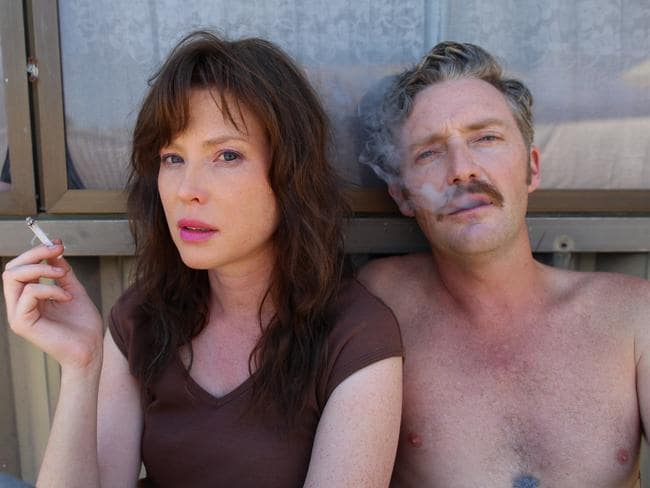 Emma Booth, with Stephen Curry, in her AACTA winning role in Hounds of Love. Picture: Label Distribution