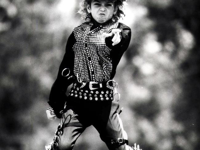 As a child Wade Robson idolised Michael Jackson, dressing like him and getting his hair permed so he would look like the star.