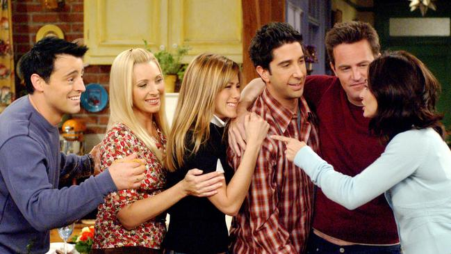 Matt LeBlanc saved the day when Lisa Kudrow was struggling with her confidence. Picture: Warner Bros/Everett Collection.