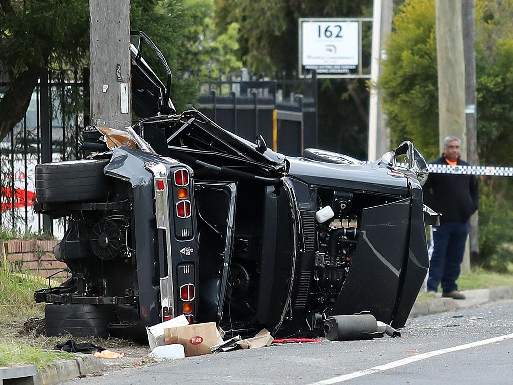 Milperra car crash: Two men critically injured | Daily Telegraph