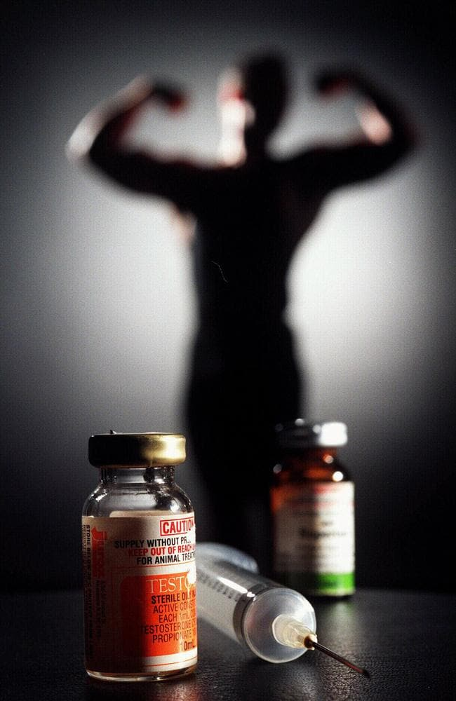 Steroids can damage the normal function of the testes.
