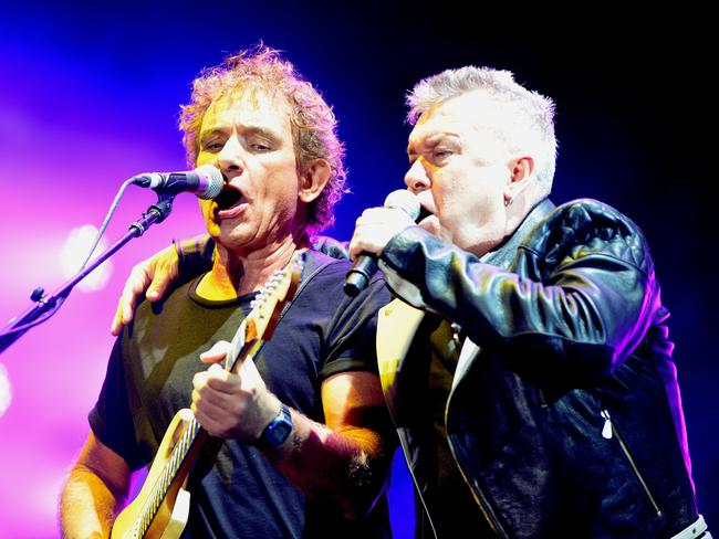 Cold Chisel perform at the Clipsal in March 2015. Picture. Noelle Bobrige
