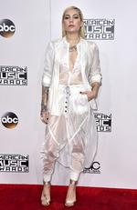 Skylar Grey attends the 2016 American Music Awards at Microsoft Theater on November 20, 2016 in Los Angeles, California. Picture: AP