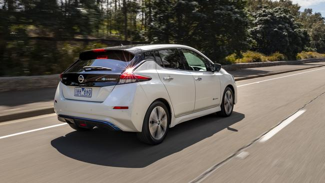 The Leaf can drive up to 270km in one charge.