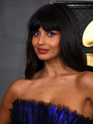 Jameela Jamil regularly clashes with Morgan. Picture: Valerie Macon/AFP