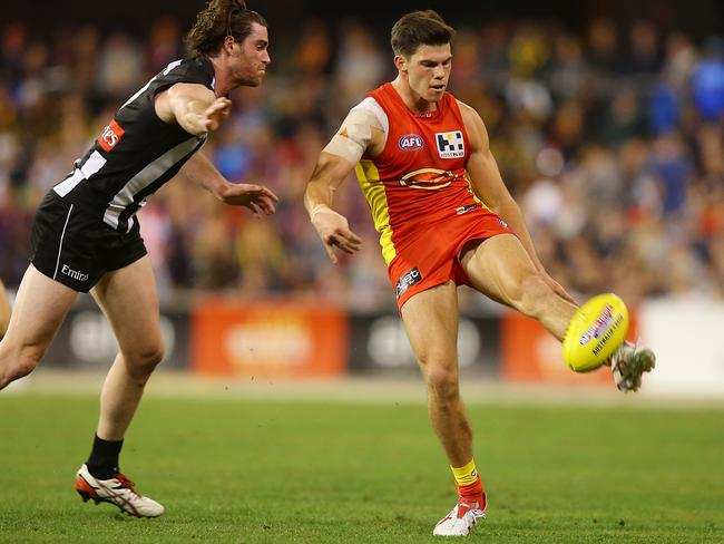 Jaeger O'Meara finished with 143 SuperCoach points.