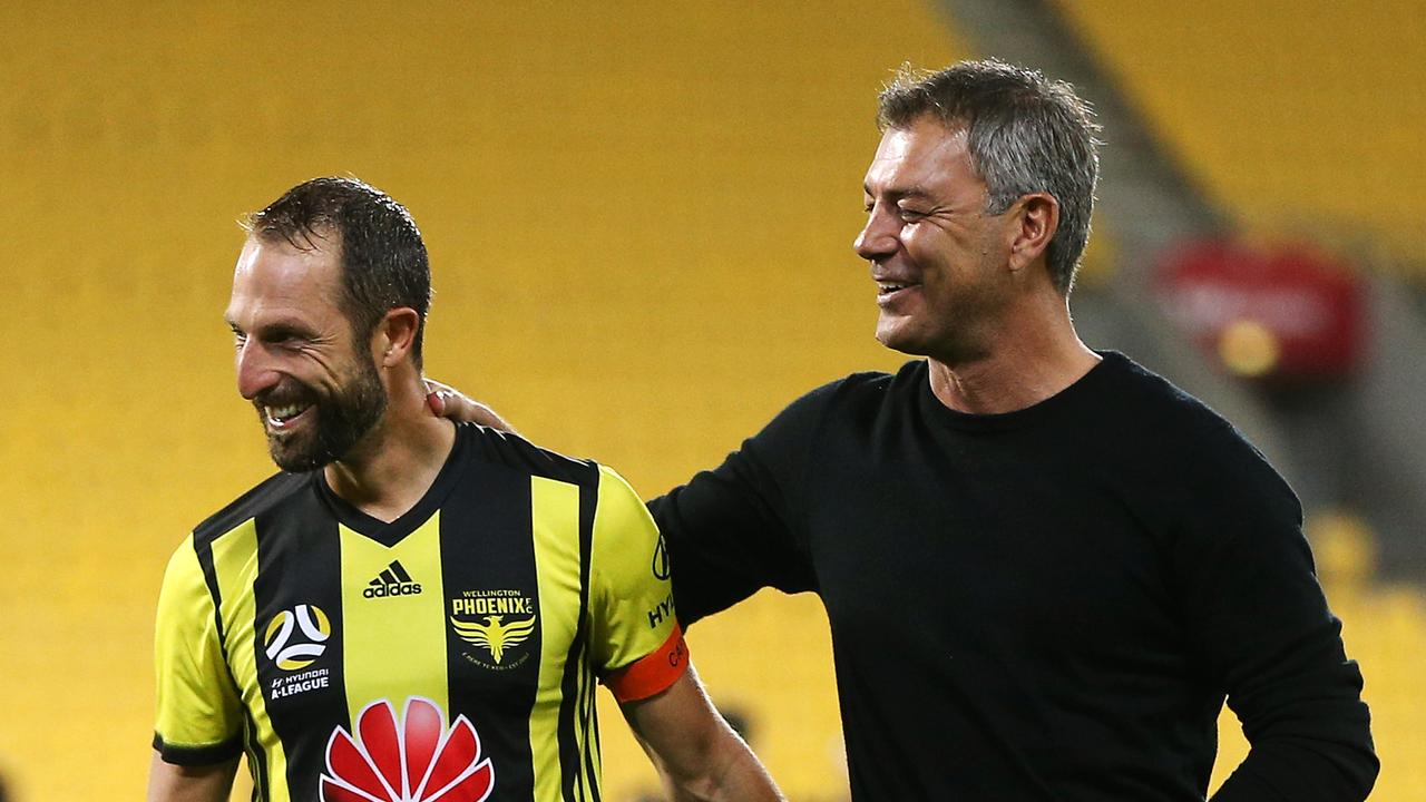Andrew Durante and Mark Rudan are now both at Western United