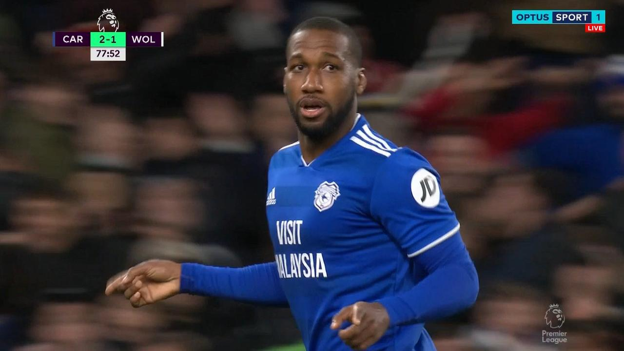 Junior Hoilett scored a stunning winner for Cardiff.