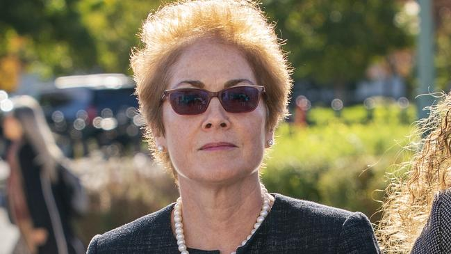 Former US Ambassador to Ukraine Marie Yovanovitch. Picture: J. Scott Applewhite/AP