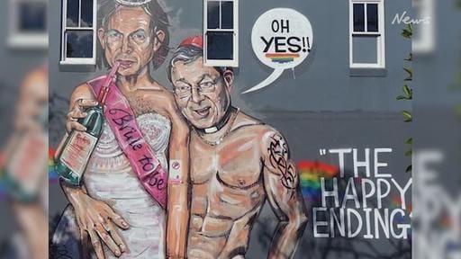 Controversial Scott Marsh street art painted over