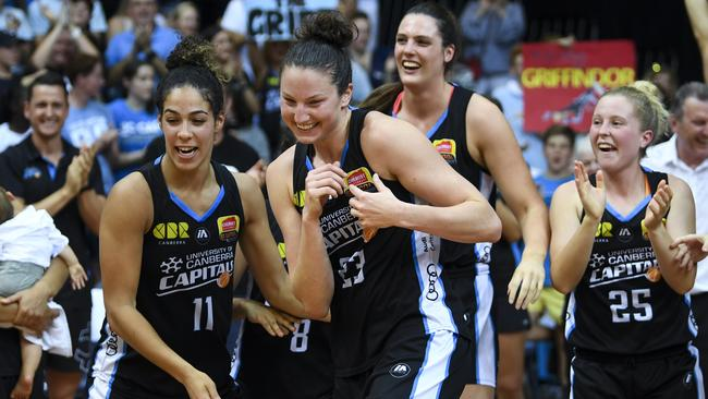 Canberra Capitals are the defending WNBL champions.