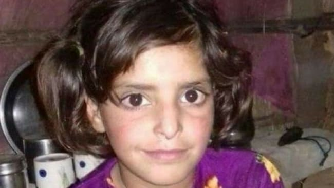 Asifa Bano was eight years old. Image: Supplied.