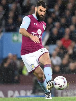 Mile Jedinak in action for Aston Villa.