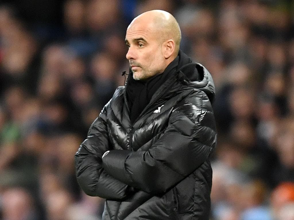 Pep Guardolia accepts reality of Manchester City