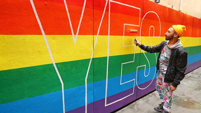 We'll know if the postal survey is going ahead at 2.15pm AEST on Thursday afternoon. Picture: Scott Barbour/Getty Images)