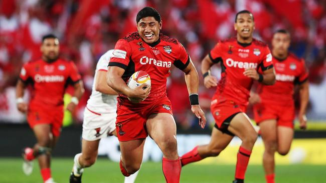 Tonga have become one of the game's new superpowers. Photo by Hannah Peters/Getty Images.