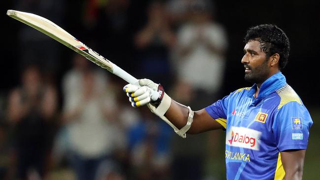 Thisara Perera has been Sri Lanka's best white-ball player for the past 12 months.