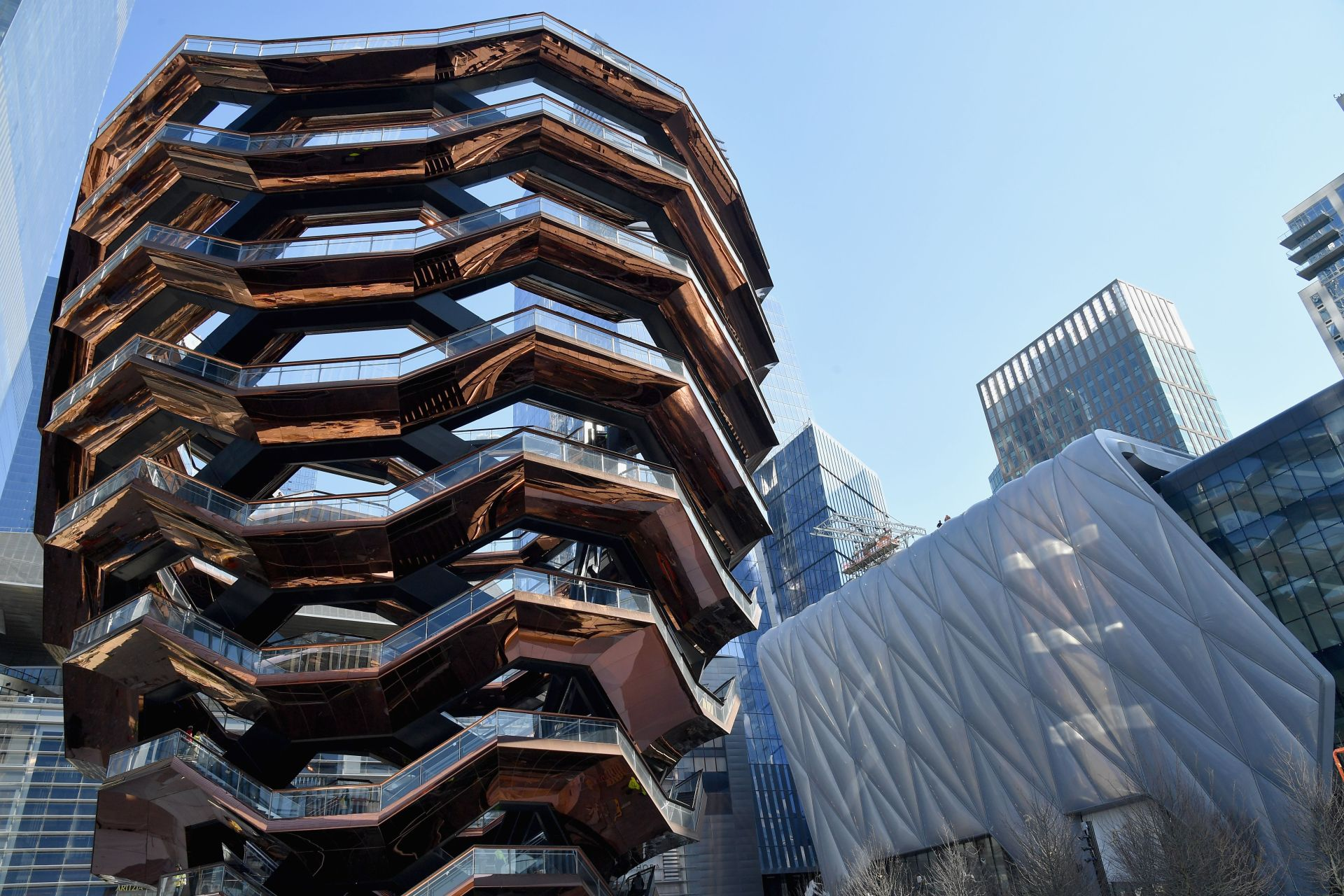 New York's Hudson Yards hope to revitalise retail