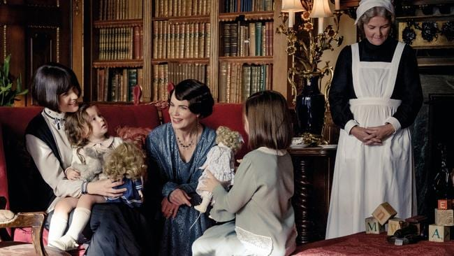 Michelle Dockery and Elizabeth McGovern in a scene from Downton Abbey the movie. Picture: Supplied
