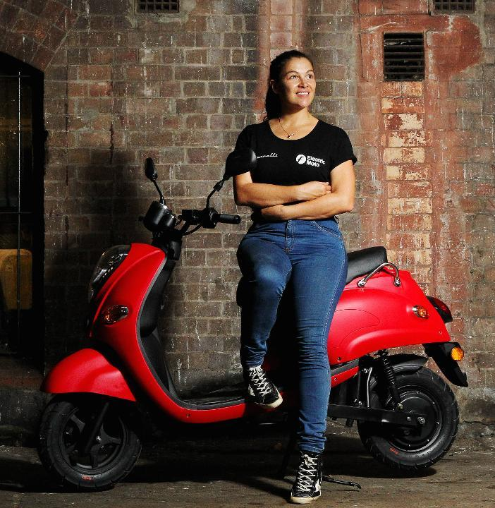 Australia's first electric scooter