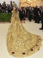 Sarah Jessica Parker attends the Heavenly Bodies: Fashion and The Catholic Imagination Costume Institute Gala at The Metropolitan Museum of Art on May 7, 2018 in New York City. Picture: Getty Images