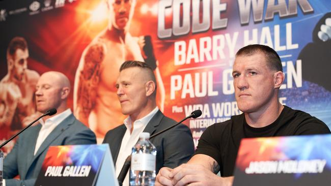 barry hall and paul gallen fight - photo #3