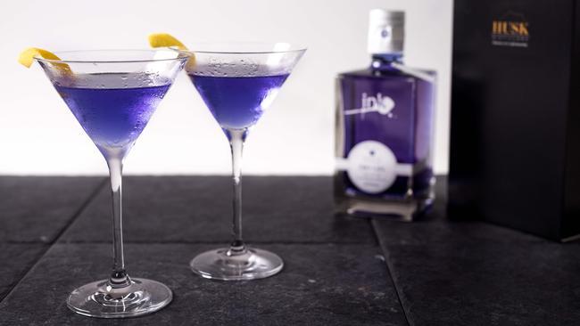 What was the purple/pink gin Margot Robbie was drinking?
