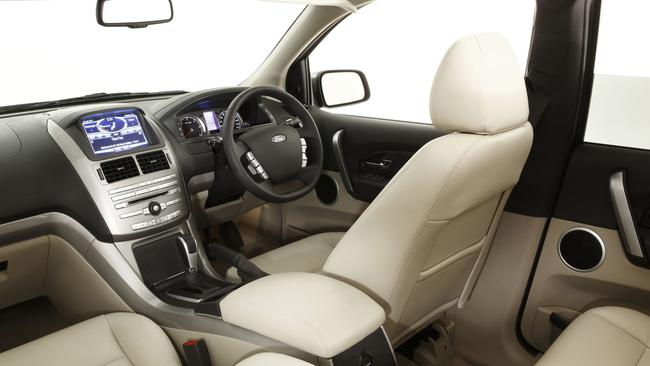 Interior of the Ford Territory 2011