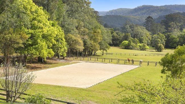 Horse lovers will adore the property.