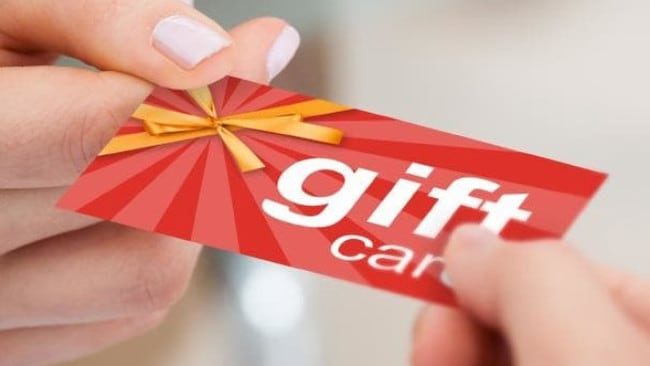 Some retailers charge for the cost of a gift card. Picture: iStock