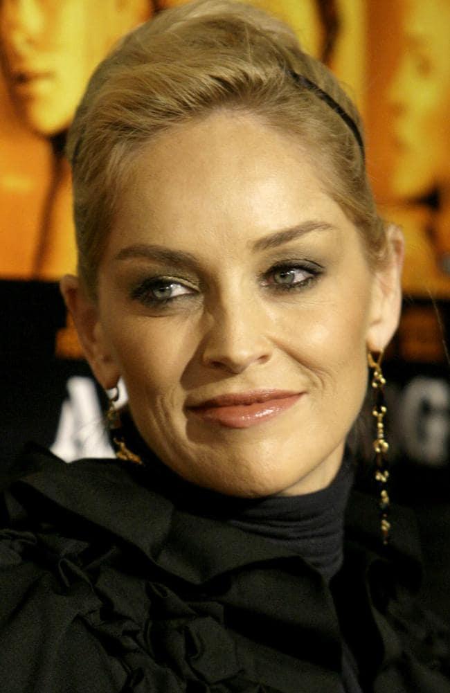 Sharon Stone in 2007.