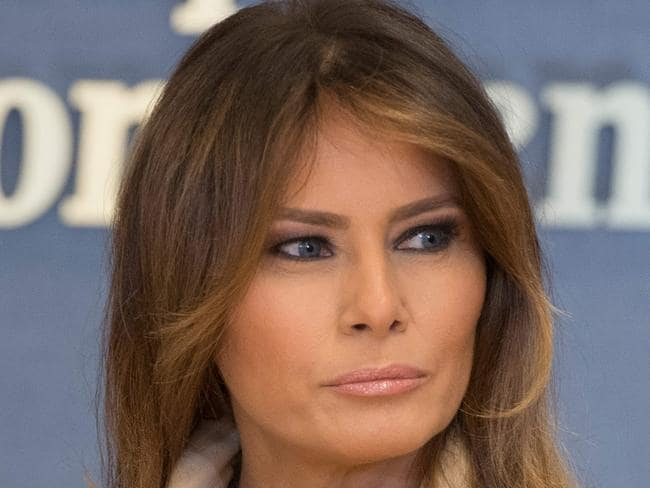 US First Lady Melania Trump hopes Democrats and Republicans can work together to achieve successful immigration reform. Picture: AFP