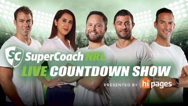 SuperCoach NRL Countdown Show will take a close look at the first bye round.