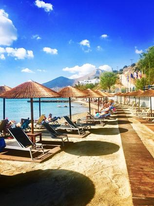 The Elounda Blu Hotel warned guests that accommodation bookings made via Thomas Cook were now void. Picture: Facebook/Elounda Blu