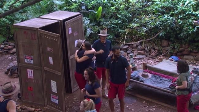 I'm A Celeb campmates react to the Oldfields