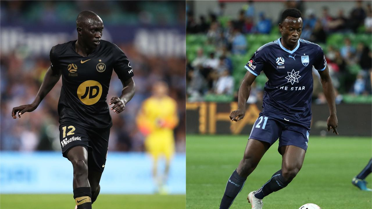 Ruon Tongyik and Charles Lokoli-Ngoy have joined Brisbane Roar
