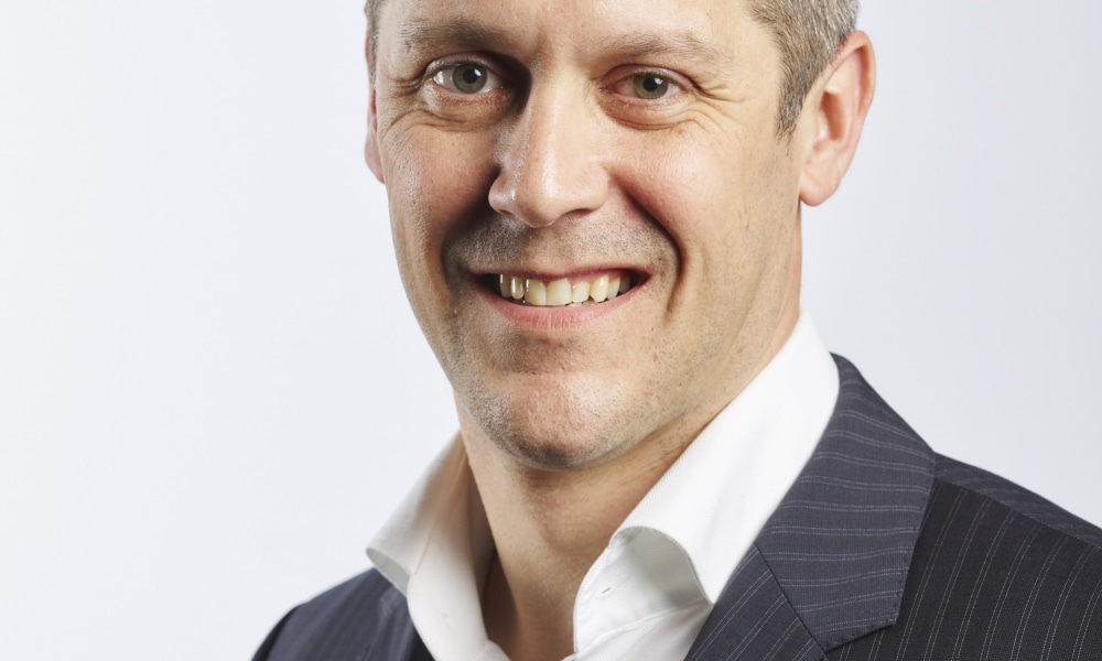 New Payments Platform chief executive officer Adrian Lovney. Picture: Supplied.