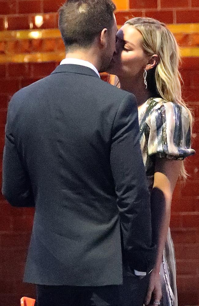 Sophie Monk was spotted kissing her new boyfriend in Sydney last week. Picture: Diimex