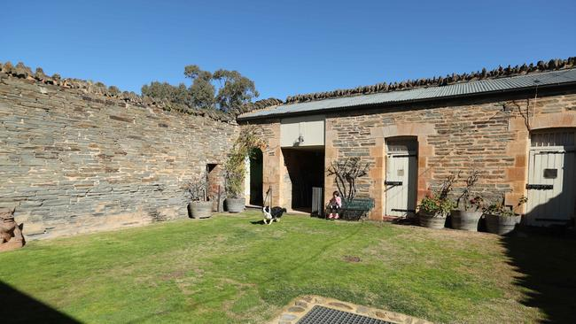The old Mintaro cop shop, complete with three original prison cells. PIC TAIT SCHMAAL.