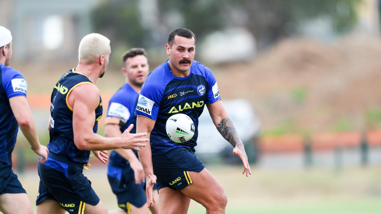 Reagan Campbell-Gillard joins the Eels off the back of a quiet 2019 season with the Panthers. There will be big expectations of him to get back to his best form. Photo credit: Parramatta Eels