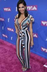 Farrah Abraham arrives at the MTV Video Music Awards at Radio City Music Hall on Monday, Aug. 20, 2018, in New York. Picture: Charles Sykes/Invision/AP
