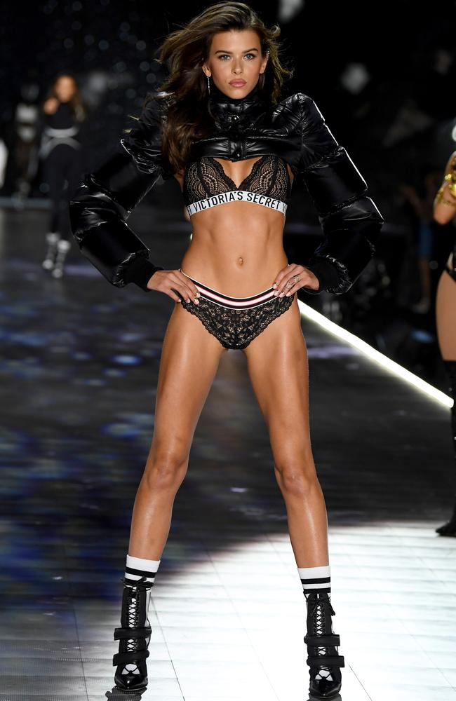 'I've had the best time doing it.' Picture: Getty Images for Victoria's Secret