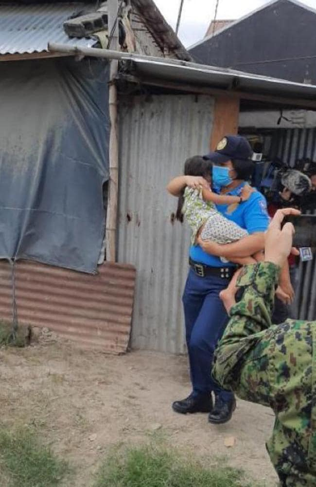 Inside the AFP raids that saved 13 abused kids in the Philippines. Picture: Supplied