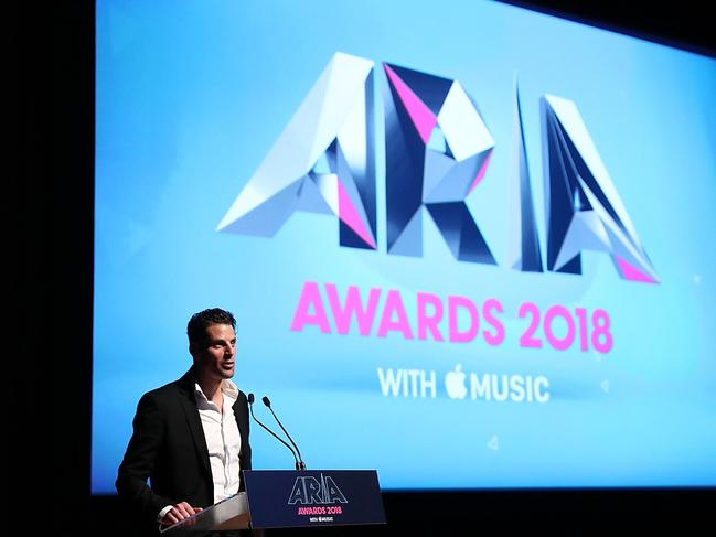 ARIA CEO Dan Rosen at the ARIA Nominations Event this month. Pic: Mark Metcalfe/Getty Images
