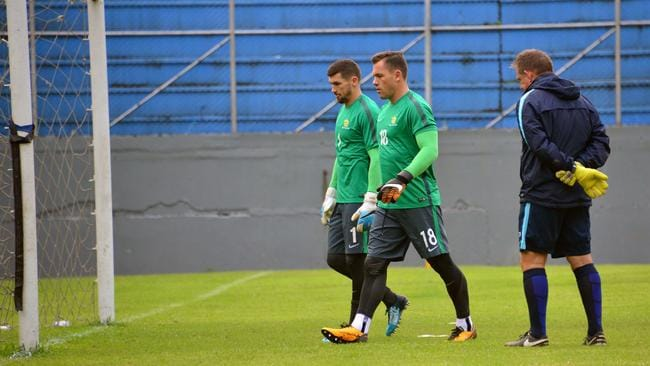 Mat Ryan and Danny Vukovic.