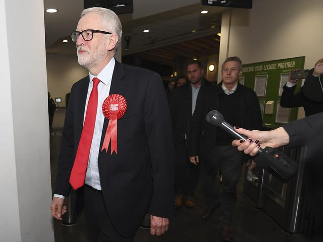 Labour Party leader Jeremy Corbyn has delivered a historic loss for his party. Alberto Pezzali